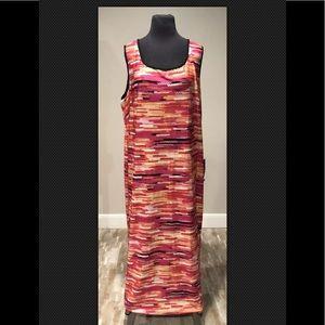Avenue Liquid Knit Ling Dress Plus Sz 22/24 NEW
